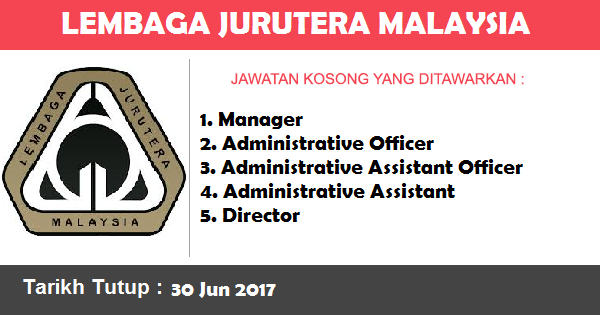 Jawatan Kosong di Lembaga Jurutera Malaysia