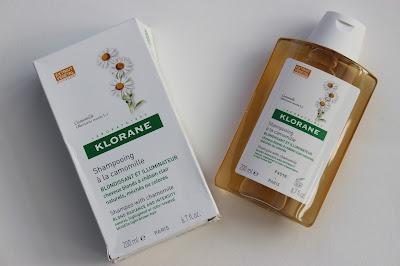 Klorane Camomile Shampoo review