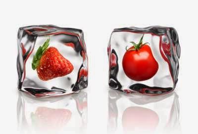 Alimentos frescos vs alimentos congelados