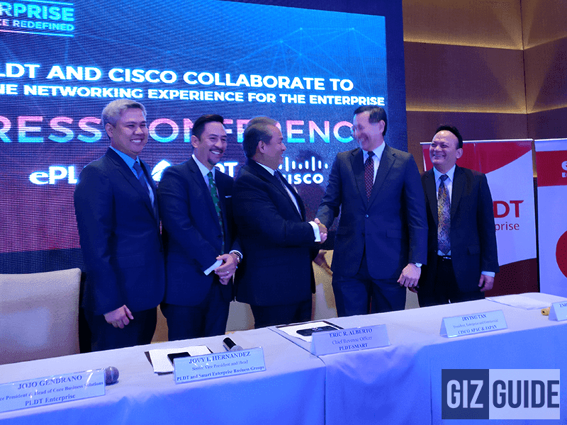PLDT Collaborates With CISCO