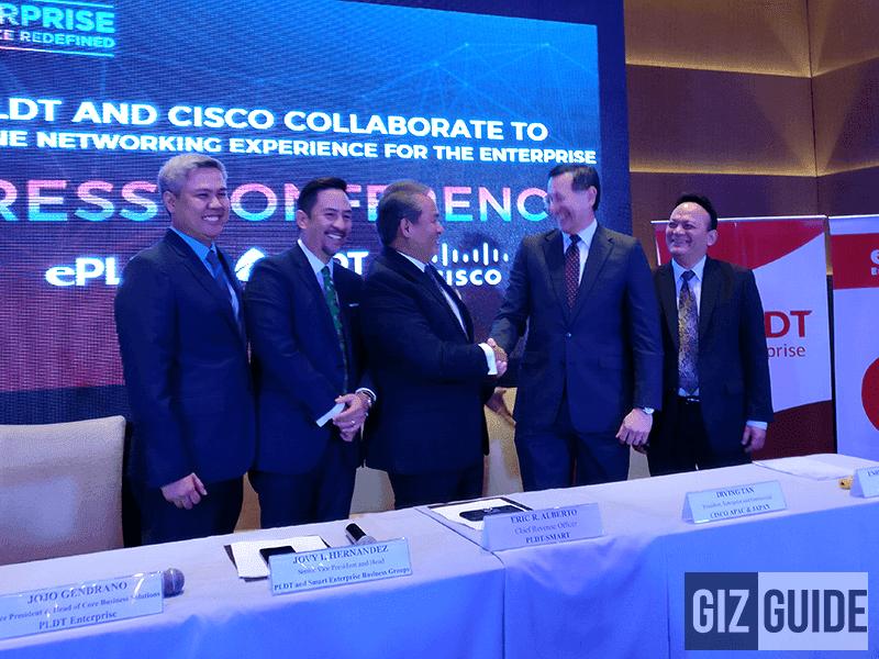 PLDT Collaborates With CISCO