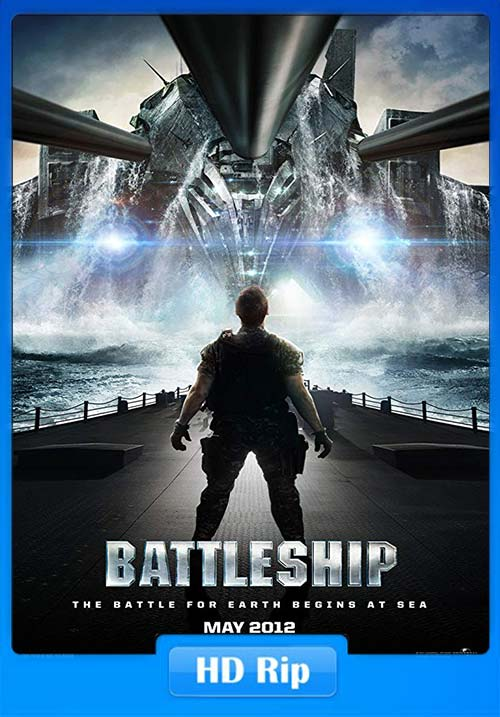 Battleship 2012 720p BDRip Telugu Hindi Tamil Eng x264 | 480p 300MB | 100MB HEVC