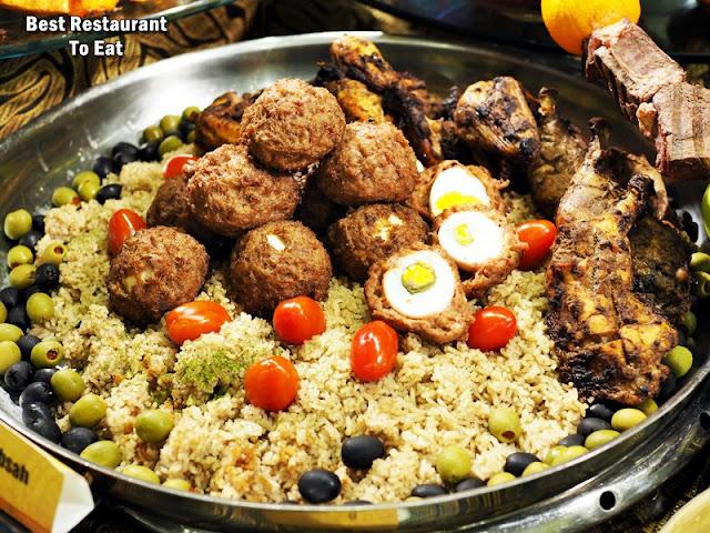 Nasi Briyani Special - Middle Eastern Dish