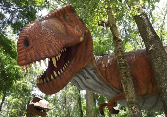 Dinossauro no Dinosaur World