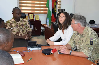 BRITAIN READY TO SUPPORT NIGERIAN TROOPS FIGHTING INSURGENCY