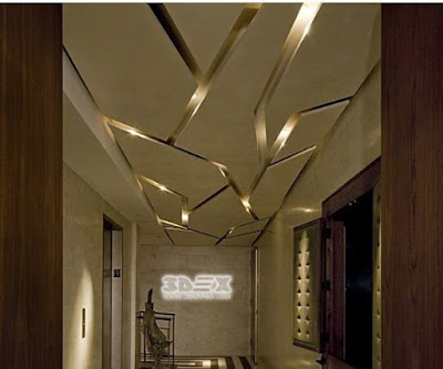 3d ceiling designs of gypsum board