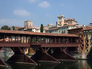 Palladio's Ponte degli Alpini in Bassano del Grappa