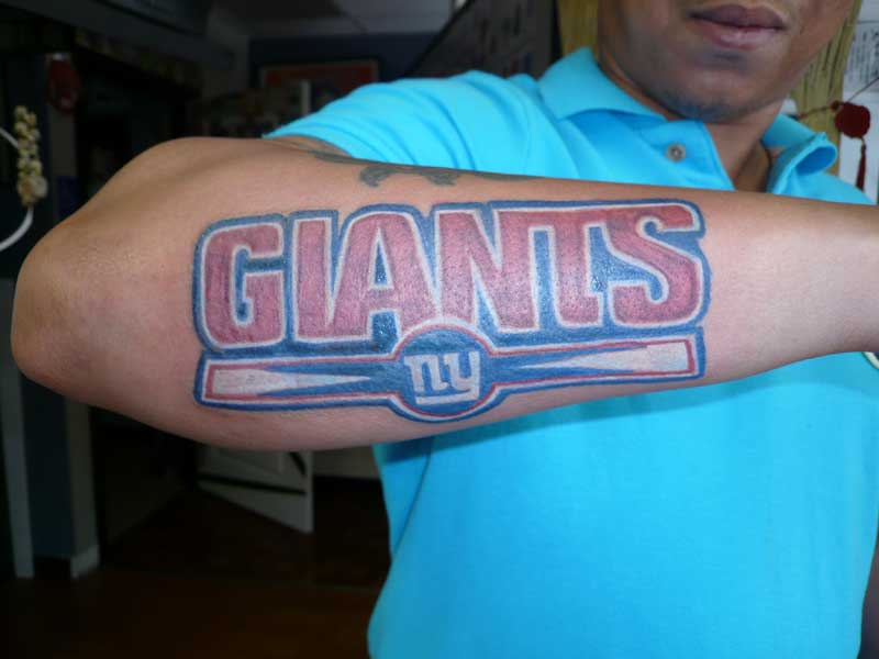 Jersey Tattoo Nfl Lockout This Fan Is True To His Team