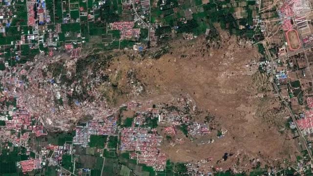 Begini Dahsyatnya Proses Likuifaksi Setelah Gempa di Palu Indonesia