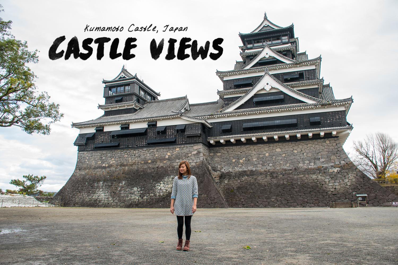 Kumamoto Castle OOTD Japan