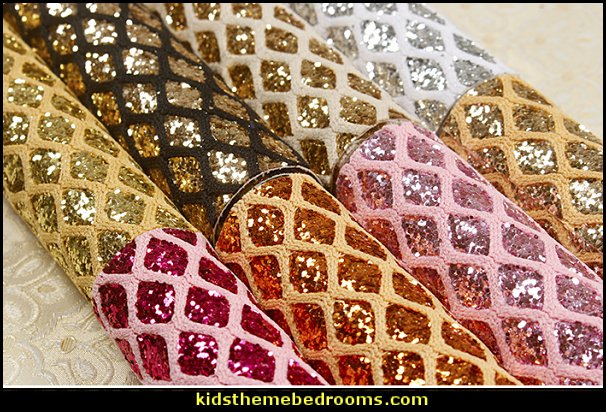 Glitter Grid Mural Decals  glitter wallpaper  rhinestone headboards - rhinestone phone case - rhinestone shoes - bling headboards - rhinestone bags - rhinestone accessories - diamonte decorations - faux crystal decor - crystal diamante headboards - glam style Shoe shopping fashion - sequins - glitter wallpaper - diamond headboards -