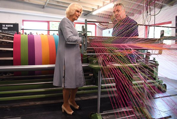 The Duchess of Cornwall visited Ireland's oldest working mill in Avoca Village, Wicklow. A dinner at the Ambassador's residence