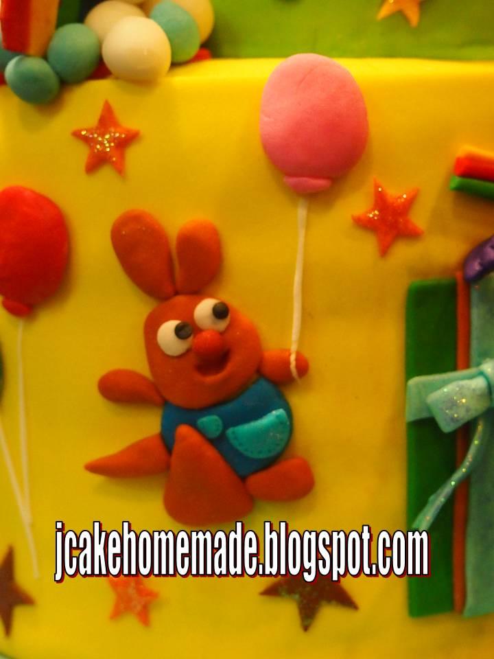 Jcakehomemade Baby Tv Theme Birthday Cake