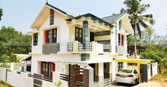 renovated old home new look photos in kerala, latest house renovation kerala