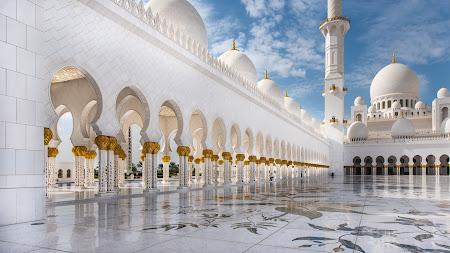 Abu Dhabi Mosque Public Domain