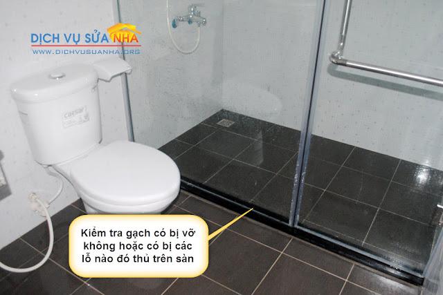 Nhà vệ sinh thấm