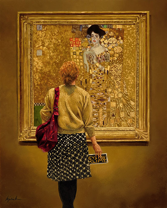Where Is The Painting Woman In Gold Today