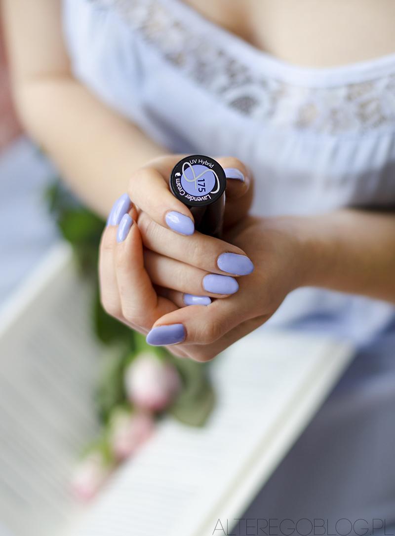semilac flavours, semilac 175, lawendowy semilac, semilac lawenda, semilac lavender cream, semilac numer 175, paznokcie hybrydowe, blog urodowy, blog kosmetyczny,