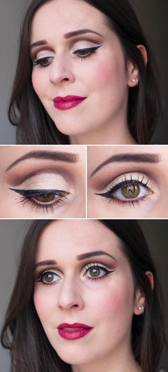 cut crease make up look using Urban Decay x Gwen Stefani palette