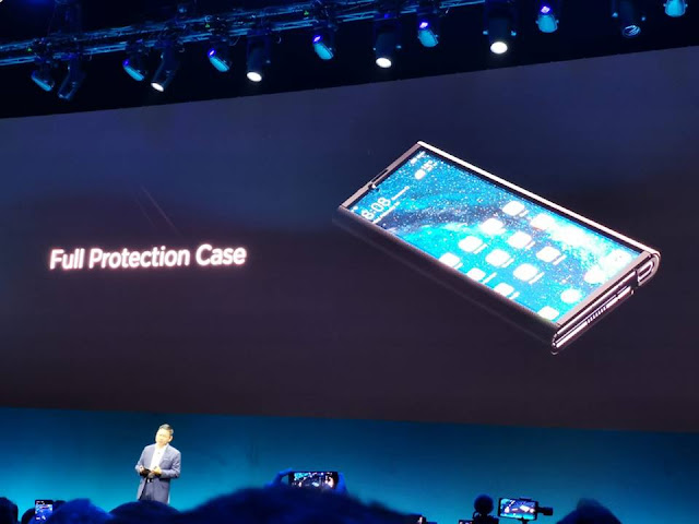 هواوي تعلن رسميا عن هاتفها الجديد القابل للطي Huawei Mate X  الأسرع في العالم !