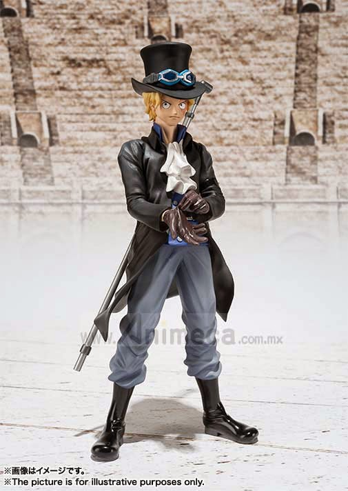 SABO The New World Arc Figuarts ZERO FIGURE ONE PIECE BANDAI