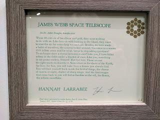 Hannah Larrabee, poem/letterpress