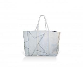 White Star Tote Sea Bag