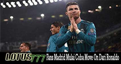 Fans Madrid Mulai Coba Move On Dari Ronaldo