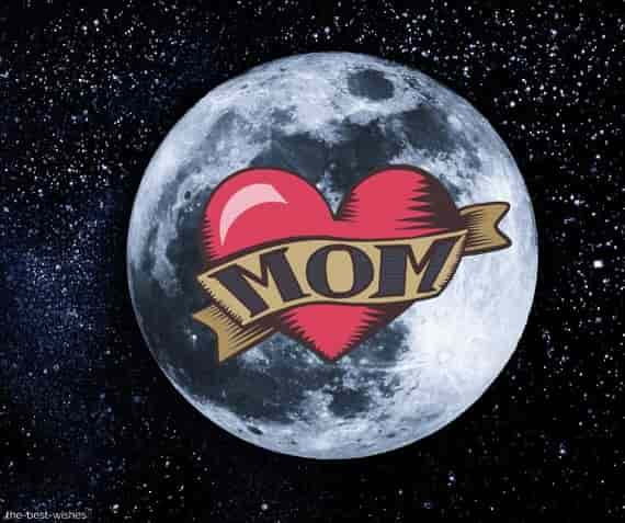 good morning mom moon love images