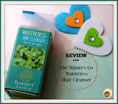 THE NATURE'S CO WATERCRESS HAIR CLEANSER REVIEW || FOR ALL HAIR TYPES