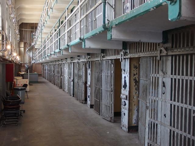 prision de alcatraz en los Estados Unidos calcer