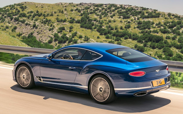 Novo Bentley Continental GT 2019