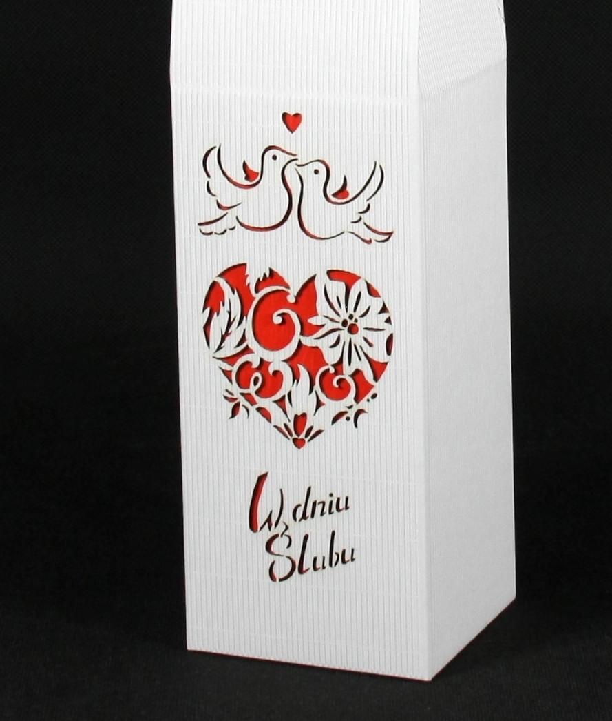 Pudełko w dniu ślubu