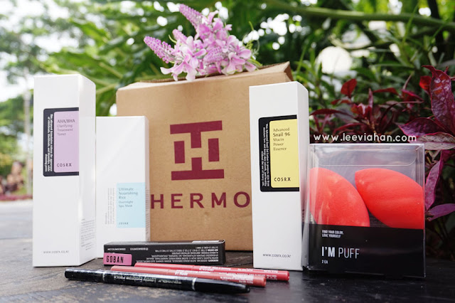 Hermi, Hermo Indonesia, Hermo Beauty, Unboxing Hermo, Skin Care, Makeup, Cosmetics, Korean Cosmetics