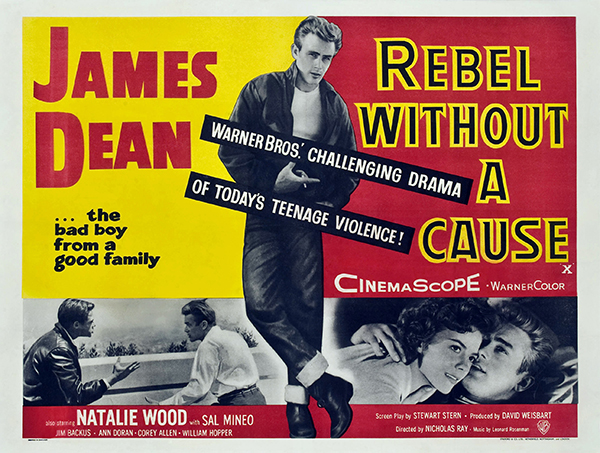 Rebel Without a Cause - Vintage Classic Movie Poster Free Vintage
