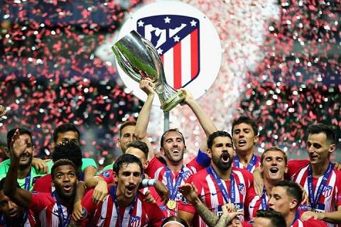 Atletico vô địch mùa bóng La Liga