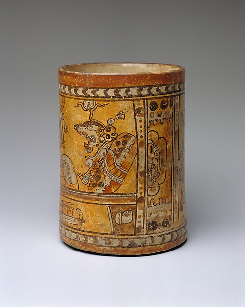 This Vessel Was Made Between The 600s Ad To 700s In Guatemala It S Style Is Chamá From Metropolitan Museum Of Art