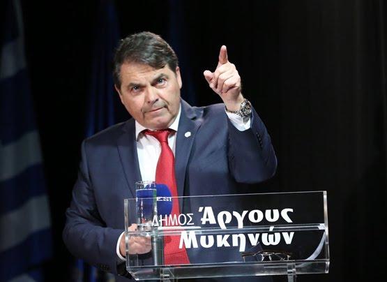 Ο Δήμαρχος Άργους Μυκηνών ομιλητής στο μεγάλο συλλαλητήριο της Αθήνας για την Μακεδονία