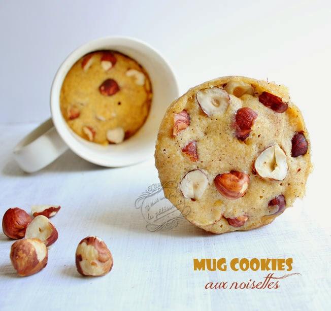 mug cookies aux noisettes