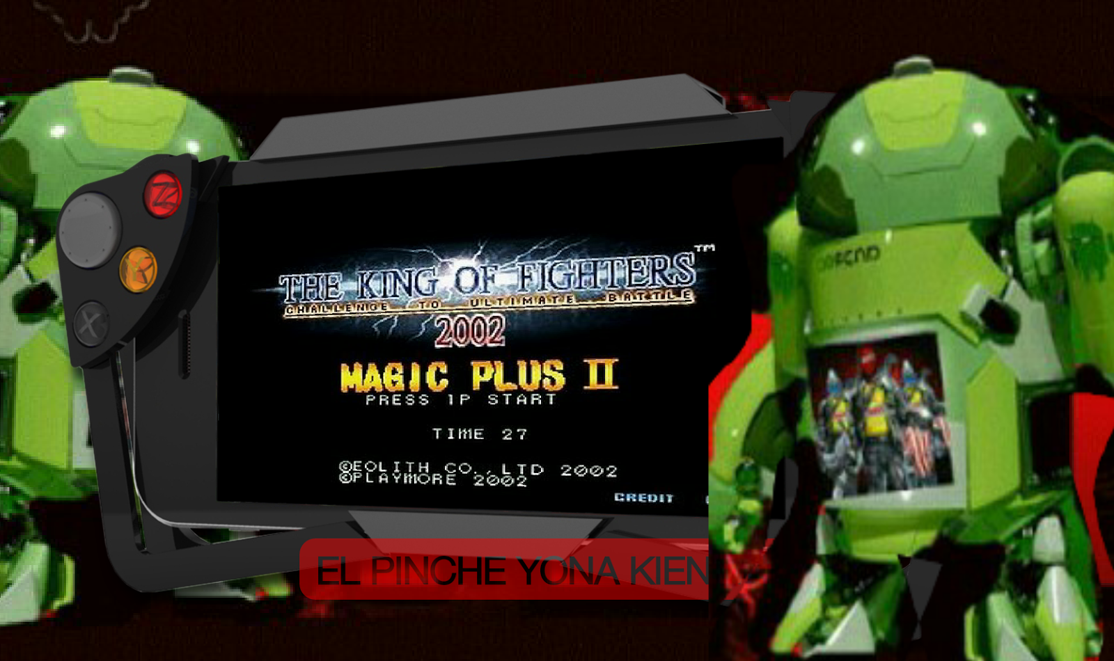 kof 2002 magic plus 2 apk sin emulador para android