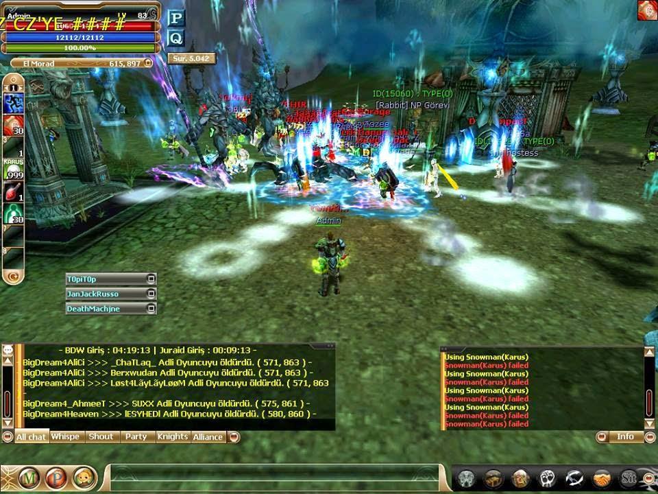 Knight Online 1299 PK