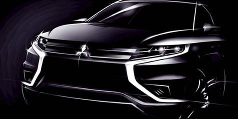 HOT! Ini Bocoran Model Mitsubishi Outlander Terbaru