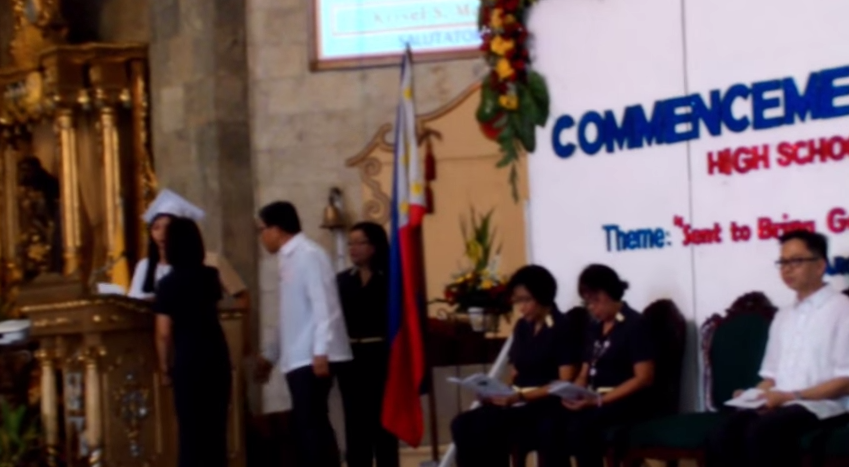 Krisel Mallari Graduation Speech interrupted in viral video