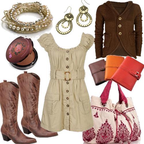 -Os vestidos no estilo Country valorizam ainda mais as mulheres c57752aba6a