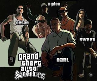 GTA San Andreas 2017