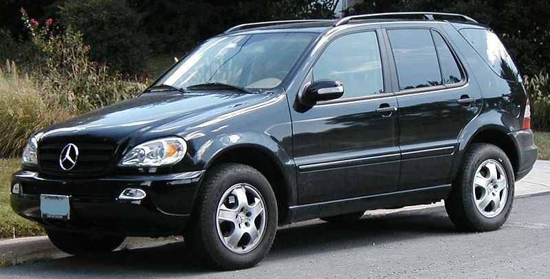 automobiles test driving mercedes benz ml320 w163 tested. Black Bedroom Furniture Sets. Home Design Ideas