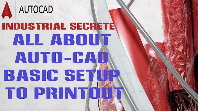 autocad printing setup