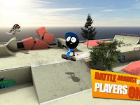 Download Stickman Skate Battle MOD APK New Versi 1.0.3 Full Version
