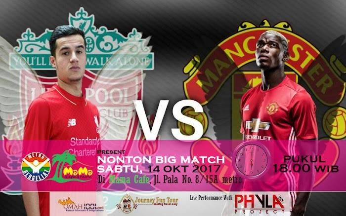 Metro Bergeliat Dan Cafe Mama Gelar Nonton Big Match Liverpool Vs. Manchester United