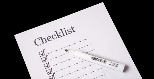 Always use a checklist for home electrical repairs.